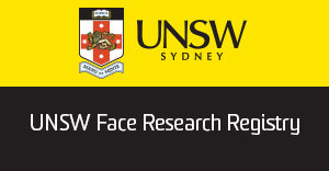 UNSW Face Research Registry Banner